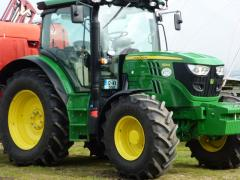John-deere-6125r Irish Fruit Farm at Greens Berry Farm Gorey Wexford Ireland