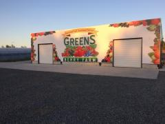 Packhouse and Refrigeration at Greens Berry Farm