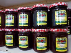 Farm Irish Fruit Preserves at Greens Berry Farm Gorey Wexford Ireland
